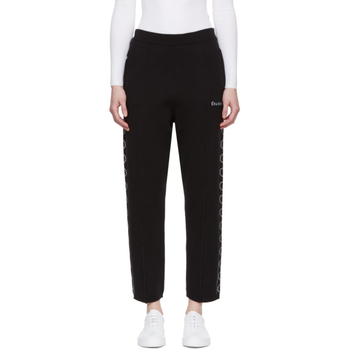 Black Time-Out Lounge Pants Études Studio