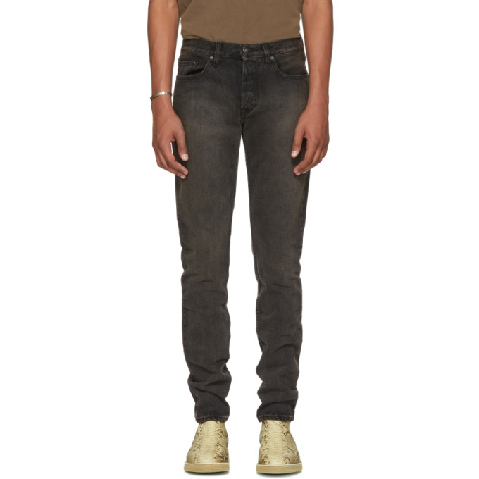 YEEZY Black Five-Pocket Jeans