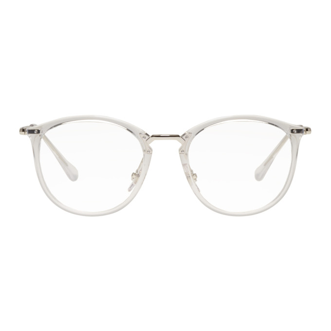 Transparent High Street Glasses by Ray Ban