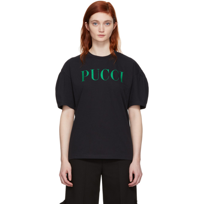 64c77335b634 sssense-exclusive-black-glitter-logo-t-shirt by emilio-