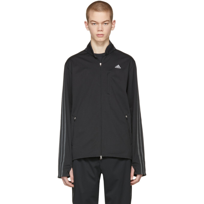 ADIDAS BY KOLOR KOLOR X ADIDAS TRACK JACKET IN BLACK