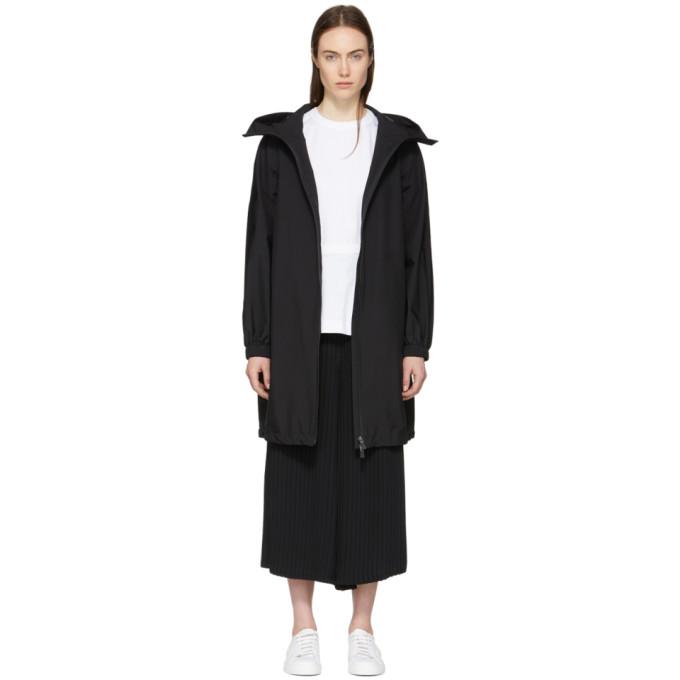 Black Gore-Tex® Long Anorak Coat