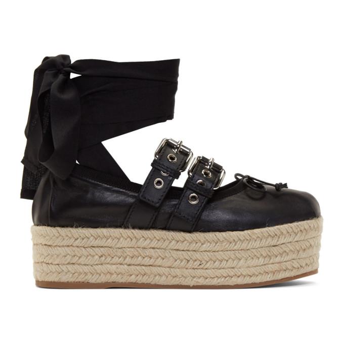 e7238d47887 black-double-bands-platform-ballerina-espadrilles by miu-miu