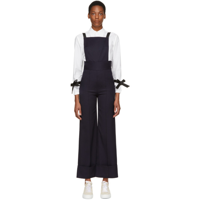 WOOL JUMPSUIT WITH DETACHABLE TROUSERS