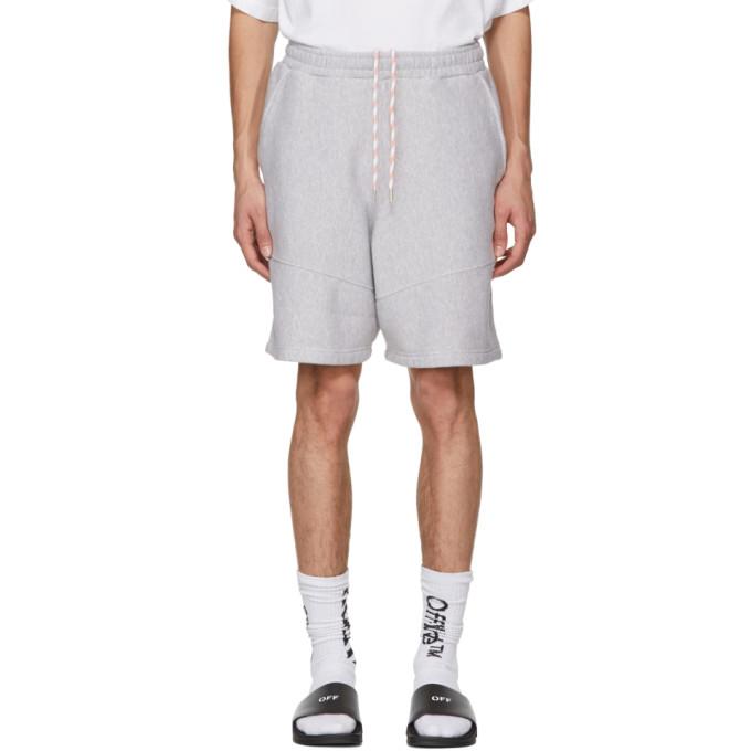 panelled track shorts - Grey HPC Trading Co.