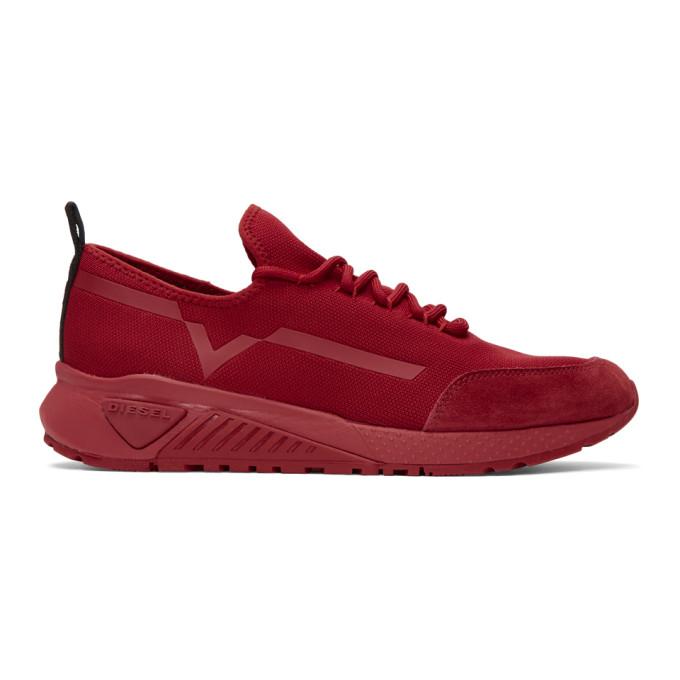 DIESEL Red S-KBY Sneakers