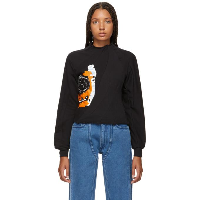 OTTOLINGER Ottolinger Black Lines Sweatshirt