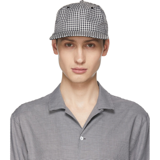 RAG AND BONE BLACK AND WHITE DYLAN CAP