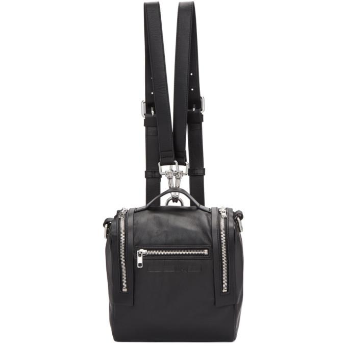 Mcq Alexander Mcqueen Black Mini Convertible Box Backpack, 1000 - Blac