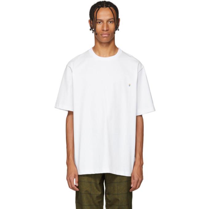 XANDER ZHOU Xander Zhou White Jersey Graphic T-Shirt