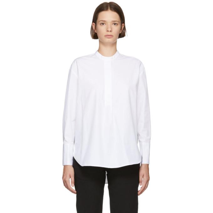 Ymc You Must Create Cottons YMC WHITE DOROTHY POPLIN SHIRT