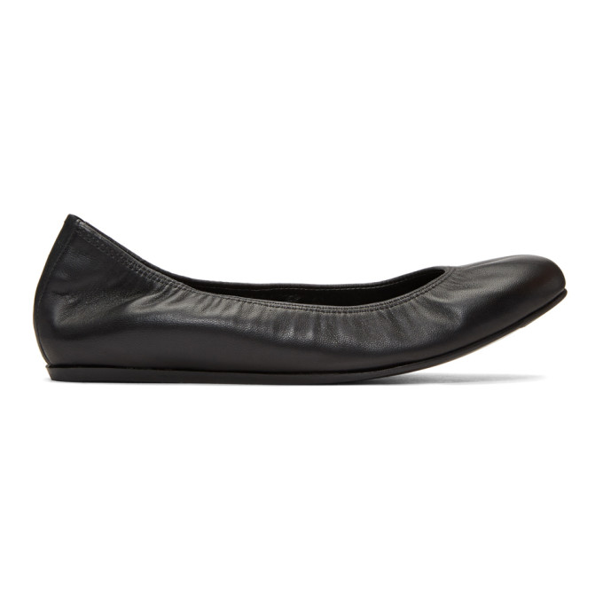 Classic Ballerina Shoes in Black