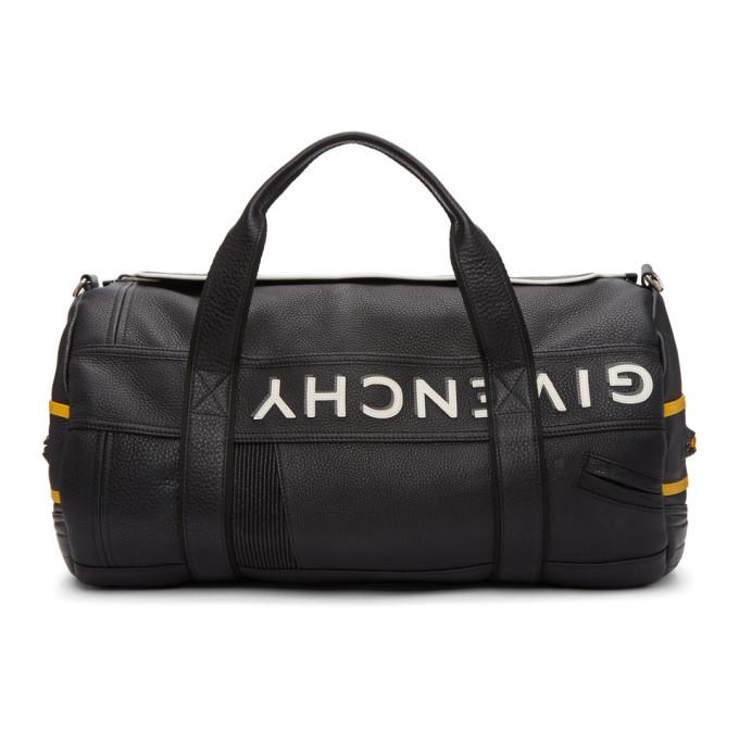 GIVENCHY Black & Yellow MC3 Reverse Duffle Bag
