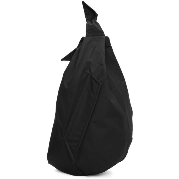 Black Eastpak Edition Sling Backpack from SSENSE