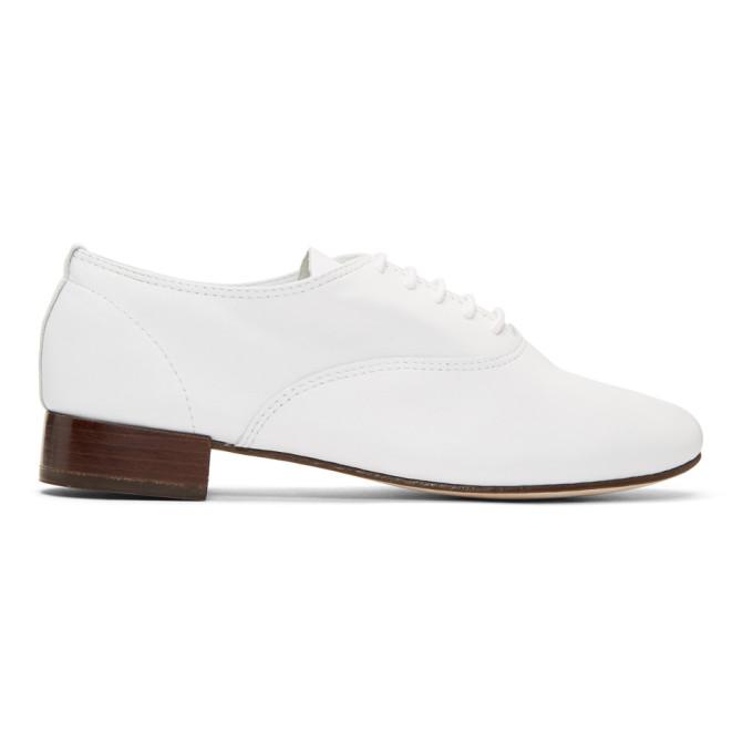 REPETTO Zizi Oxfords in 050 White