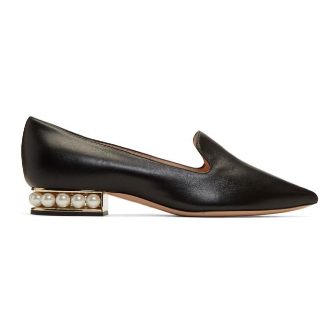 Casati Pearl Loafers in N99 Black