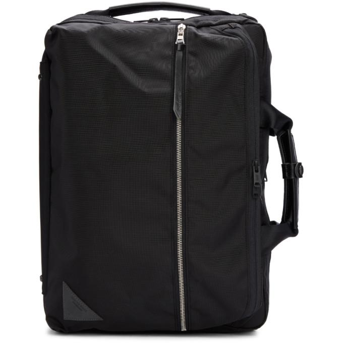 MASTER-PIECE CO Master-Piece Co Black Convertible 3 -Way Briefcase Backpack
