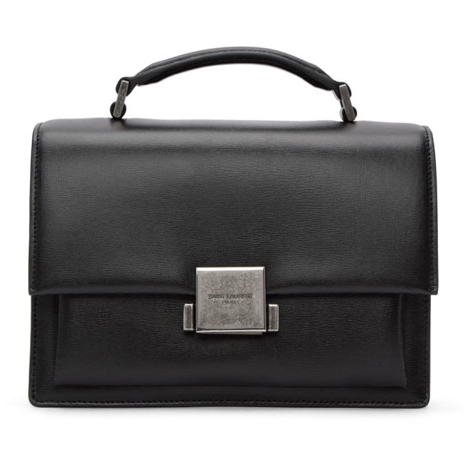 SAINT LAURENT BLACK MEDIUM BELLECHASSE BAG