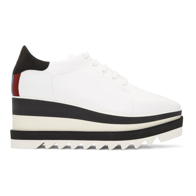 Platform Low-Top Sneakers in 9096 Wht/Ex