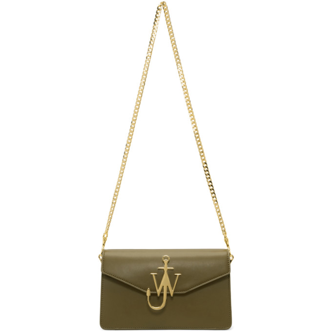J.W.ANDERSON Green Logo Bag