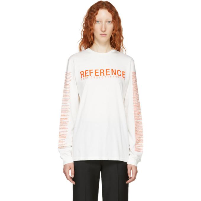 YANG LI WHITE REFERENCE 4 LONG SLEEVE T-SHIRT