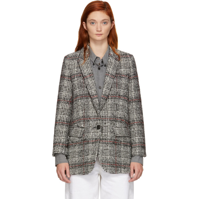 Black & White Ice Blazer by Isabel Marant Etoile