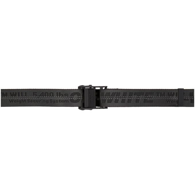 25Mm Mini Nylon Industrial Belt, Black