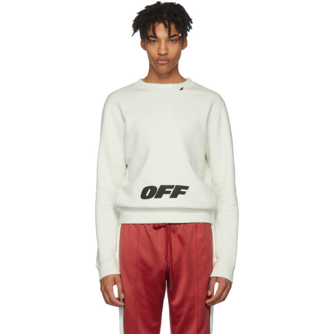 OFF-WHITE Men'S Wing Off Cotton Top, 0210 Ow/Blk