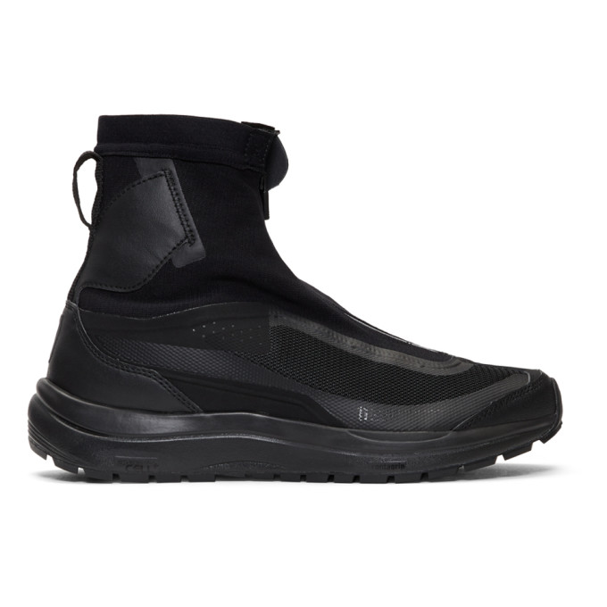 Black Salomon Edition Bamba 2 High Top Sneakers by 11 By Boris Bidjan Saberi