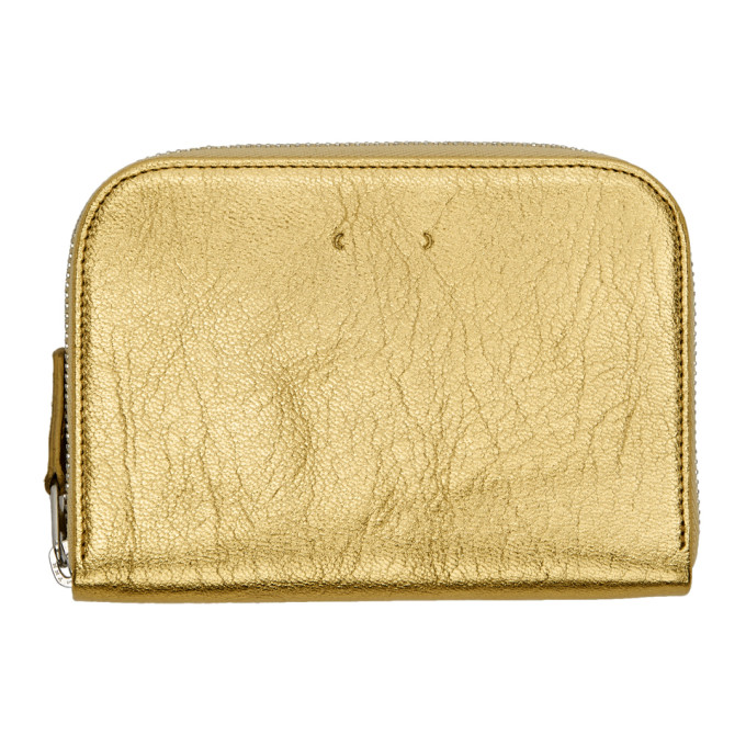 PB 0110 Pb 0110 Gold Zip Wallet