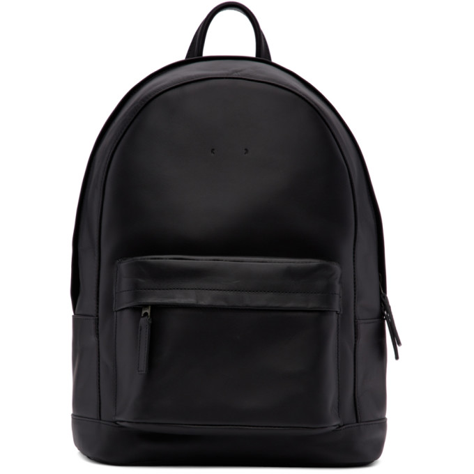 PB 0110 Pb 0110 Black Mini Leather Backpack