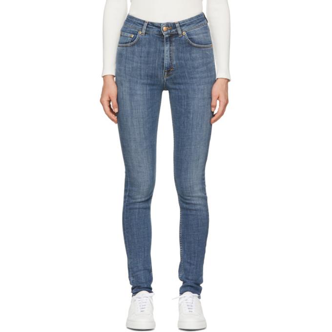 WON HUNDRED Won Hundred Blue Marylin A Skinny Jeans in 434 Light F