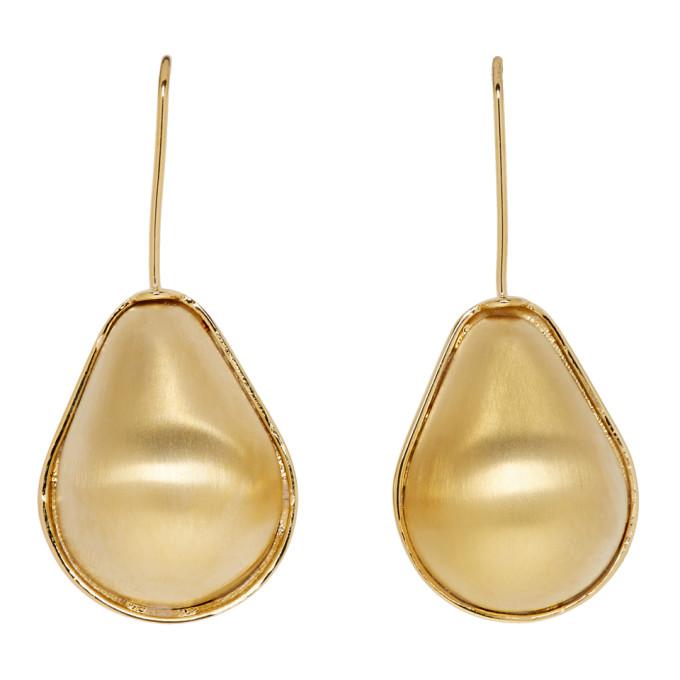 LOEWE Gold Vermeer Earrings in 8130 Gold