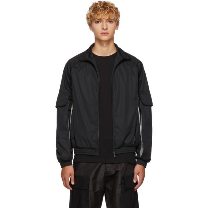 COTTWEILER Cottweiler Ssense Exclusive Black Nylon Cargo Jacket