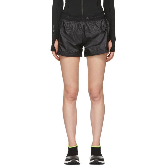 Adidas By Stella Mccartney ADIDAS BY STELLA MCCARTNEY BLACK AZ SHORTS