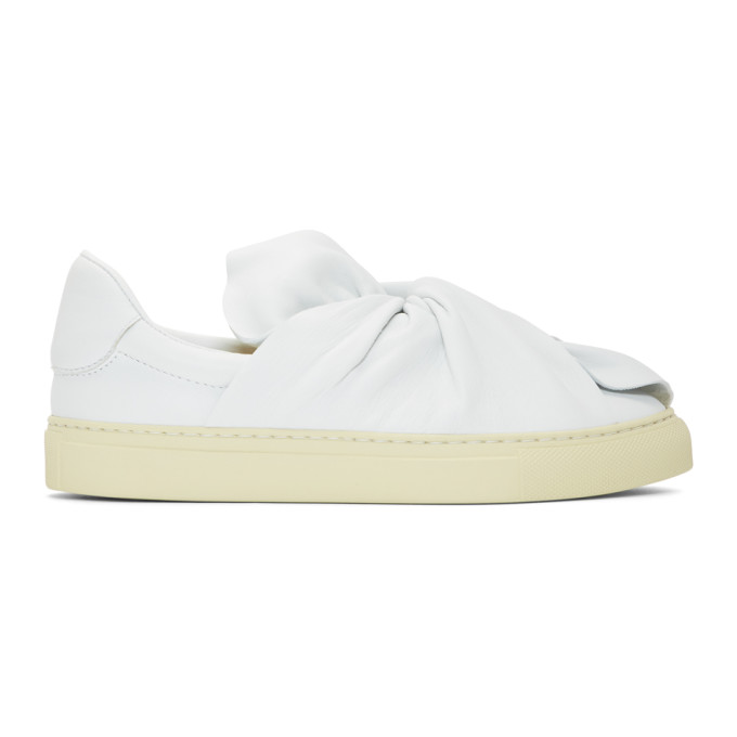 PORTS 1961 WHITE BOW SNEAKERS