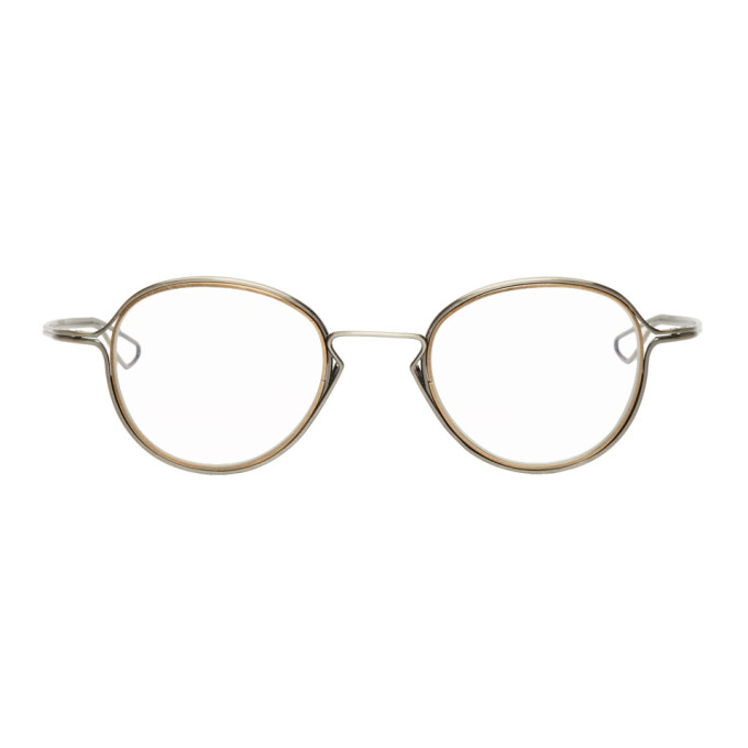 DITA SILVER AND GOLD HALIOD GLASSES