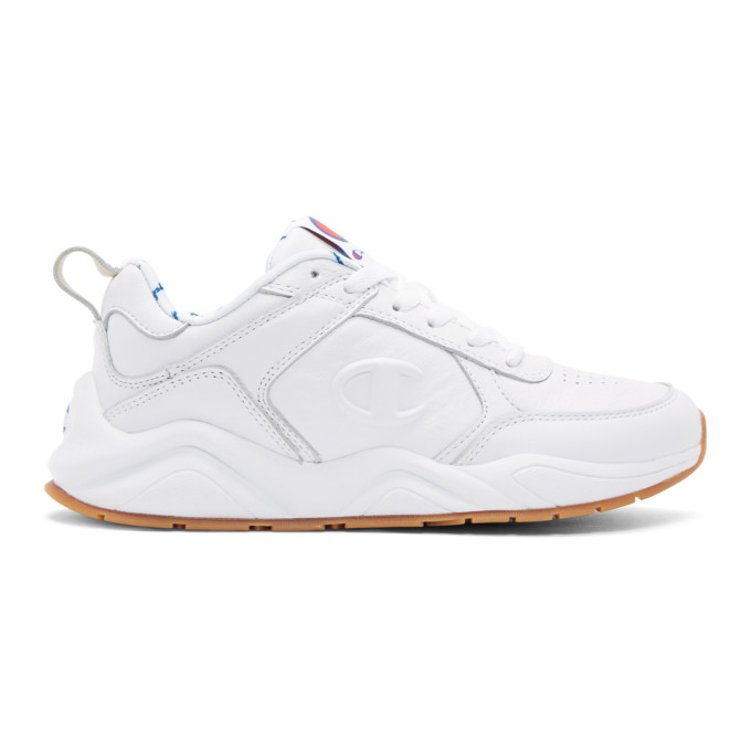 8cd32153a6ba83 CHAMPION. Champion Reverse Weave White 93Eighteen Sneakers