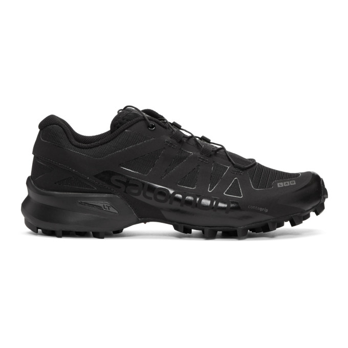 SALOMON Salomon Black S/Lab Speedcross Ltd Sneakers in Blk/Blk/Aut