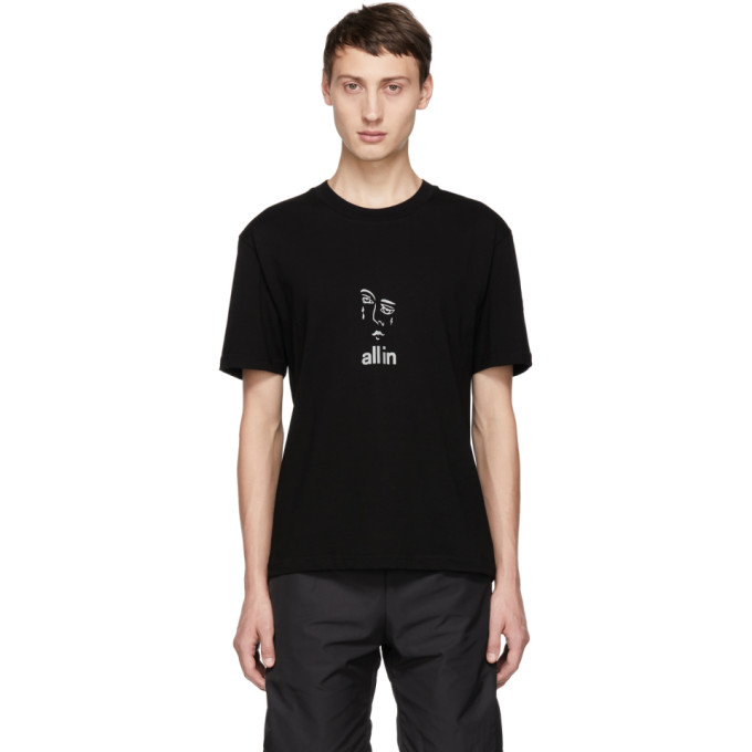 ALL IN All In Black Jacknave T-Shirt