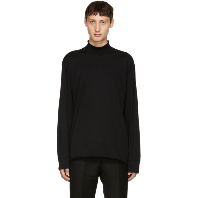 TIGER OF SWEDEN JEANS BLACK BAX JERSEY TURTLENECK