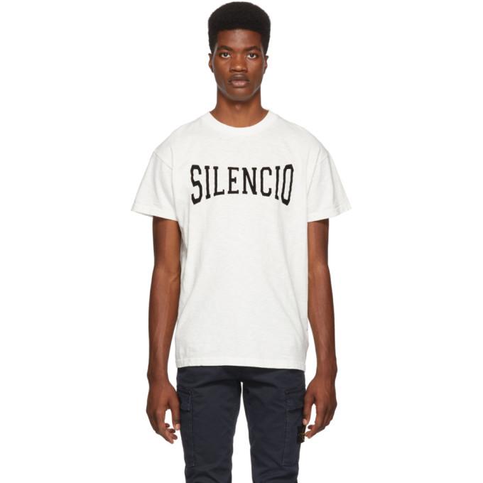 NASASEASONS Nasaseasons White Silencio T-Shirt