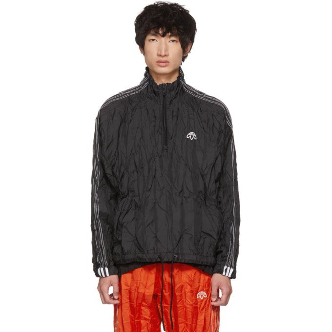 2f4f3a45edf6 Adidas Originals By Alexander Wang Adidas By Alexander Wang Windbreaker In  Black In Dn0254