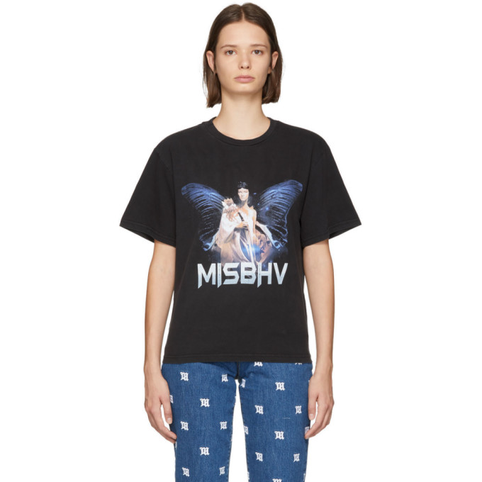 Misbhv MISBHV BLACK THE DREAM T-SHIRT
