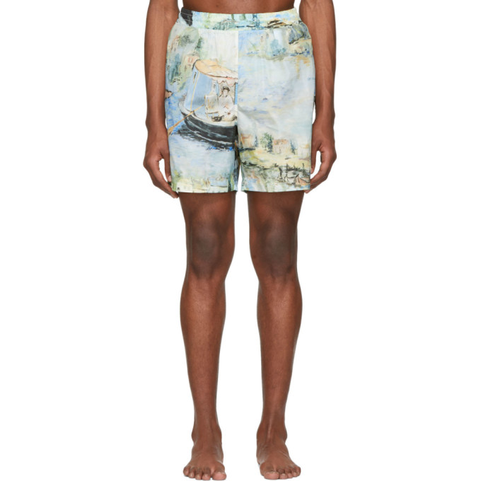 Multicolor Lake Swim Shorts by Off White