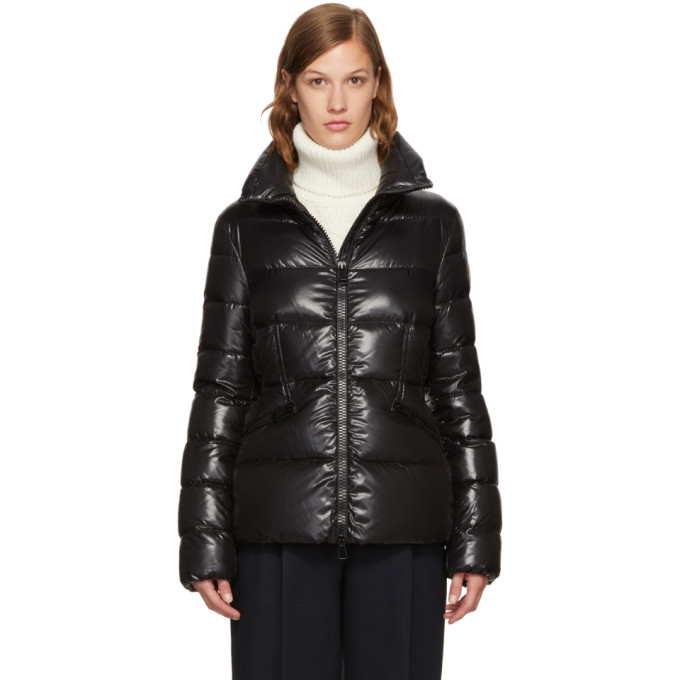 Bady Slim Short Down Jacket in Black