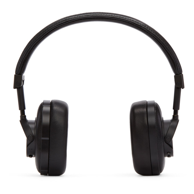Master And Dynamic Black Wireless Mw60B1 Headphones in Black/Black