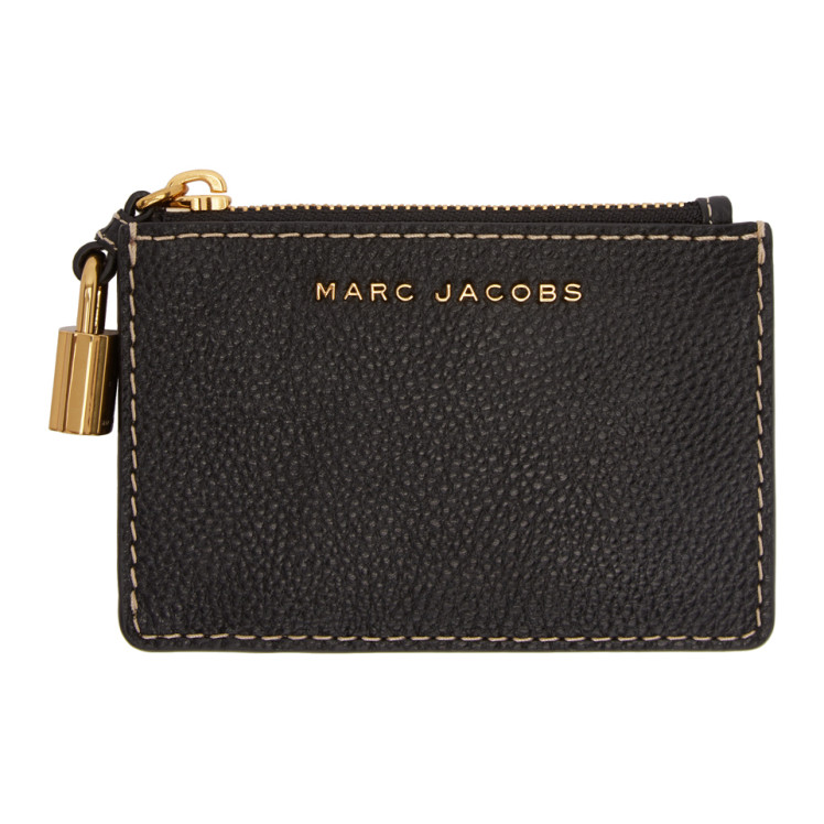 Porte Cartes à Logo Noir Multi by Marc Jacobs