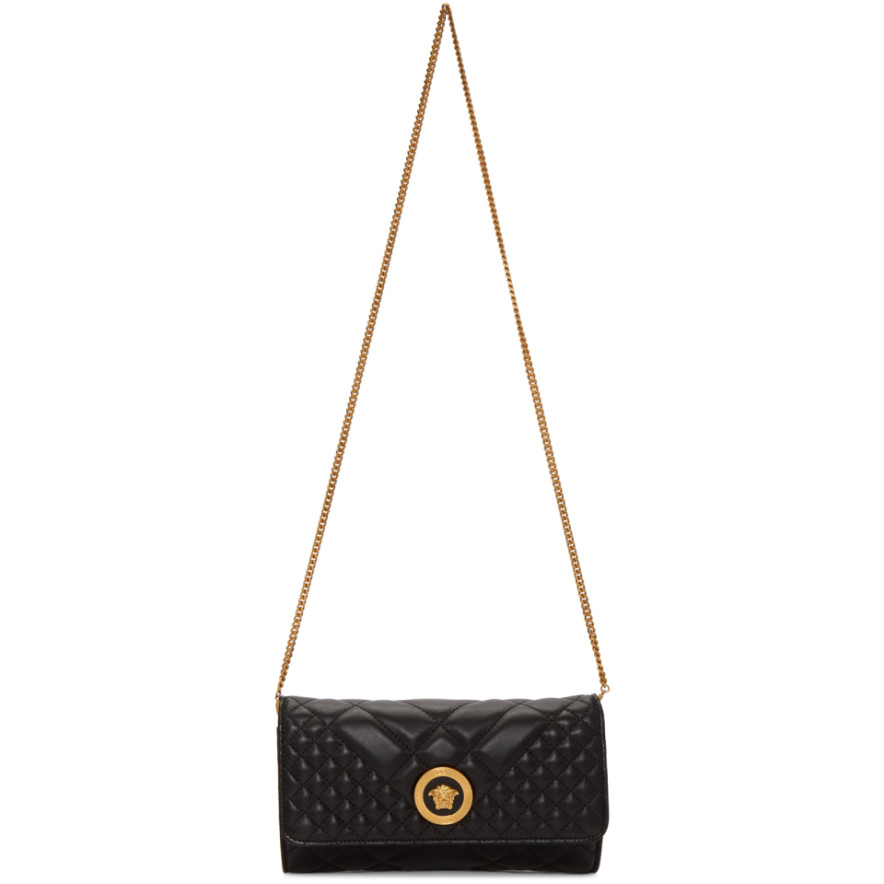 black-quilted-medusa-tribute-evening-bag by versace 8986892cb2722