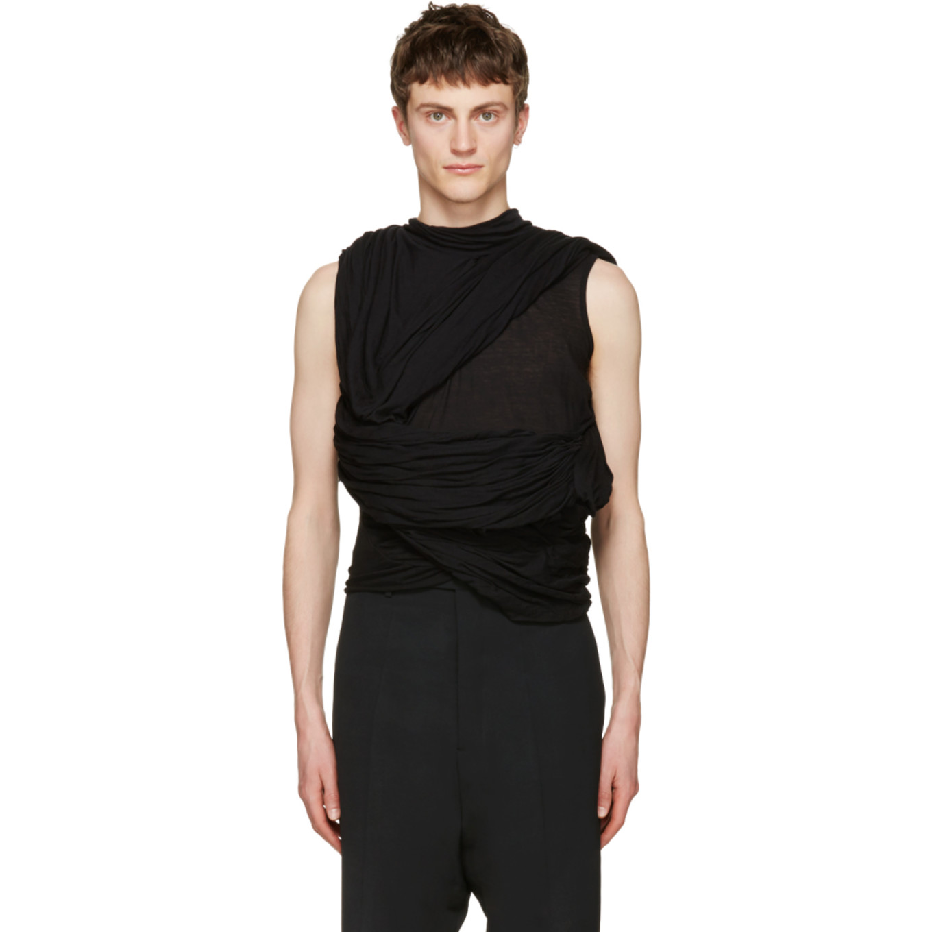 Black Root T Shirt by Rick Owens